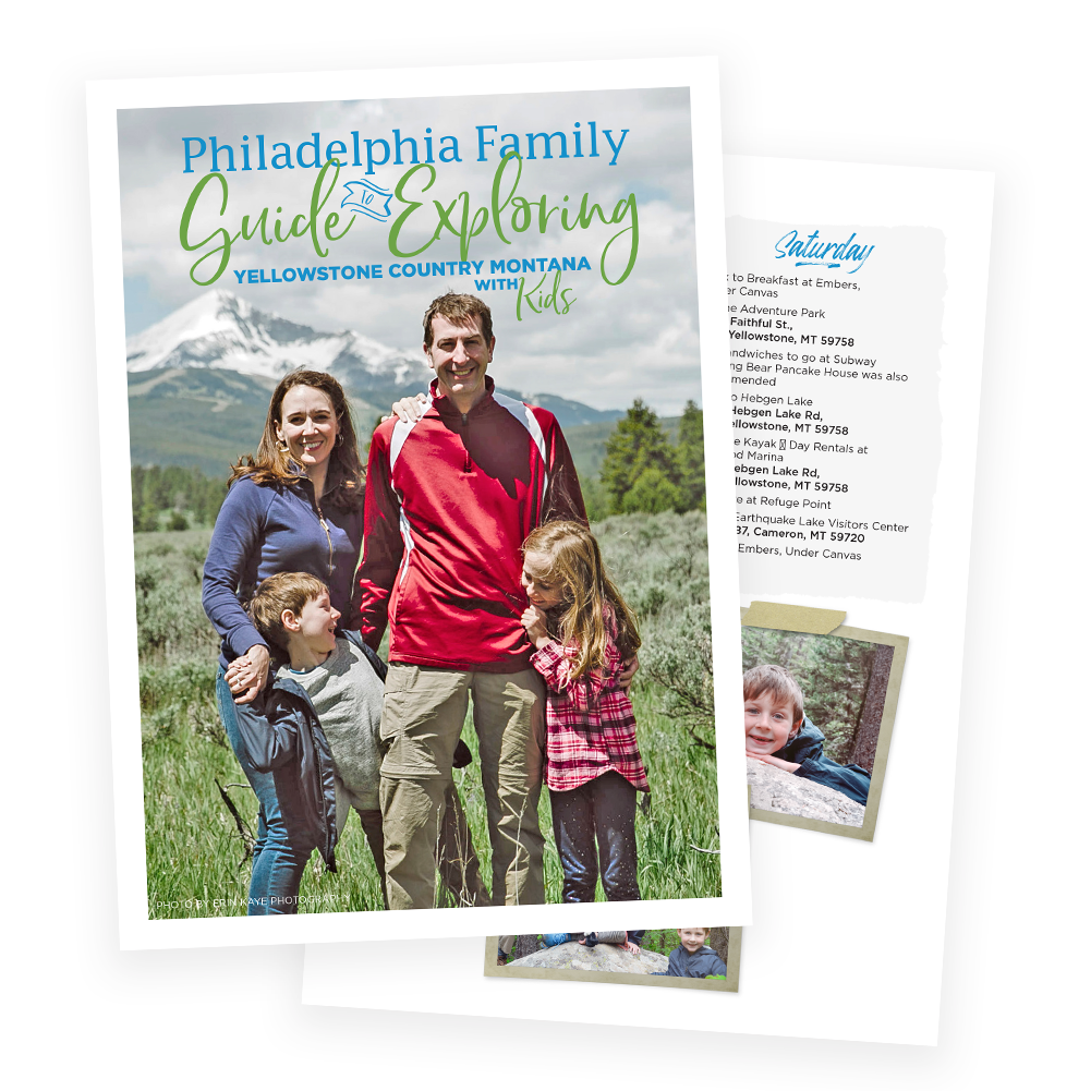 Philadelphia Family Guide to Exploring Yellowstone Country Montana with Kids